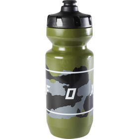 Fox Moth Purist Bidon Bidon de cyclisme, green camo